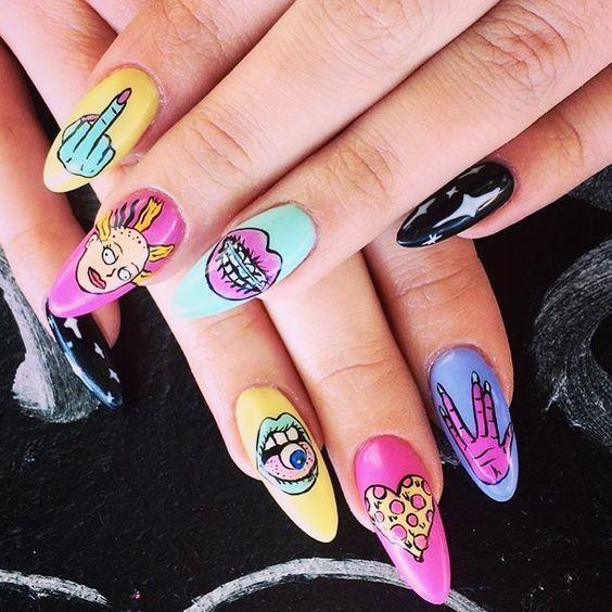 nail sáng tạo phong cách _11