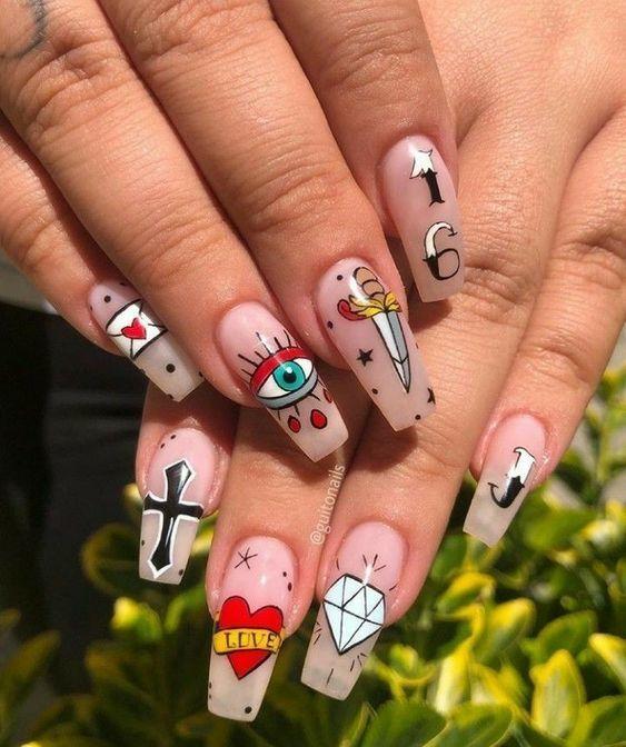 nail sáng tạo phong cách _40