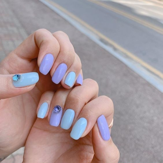 nail-xanh-ngoc-don-gian