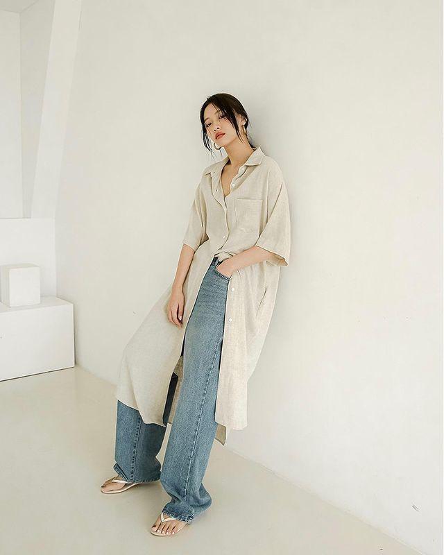 quần jeans dài 22