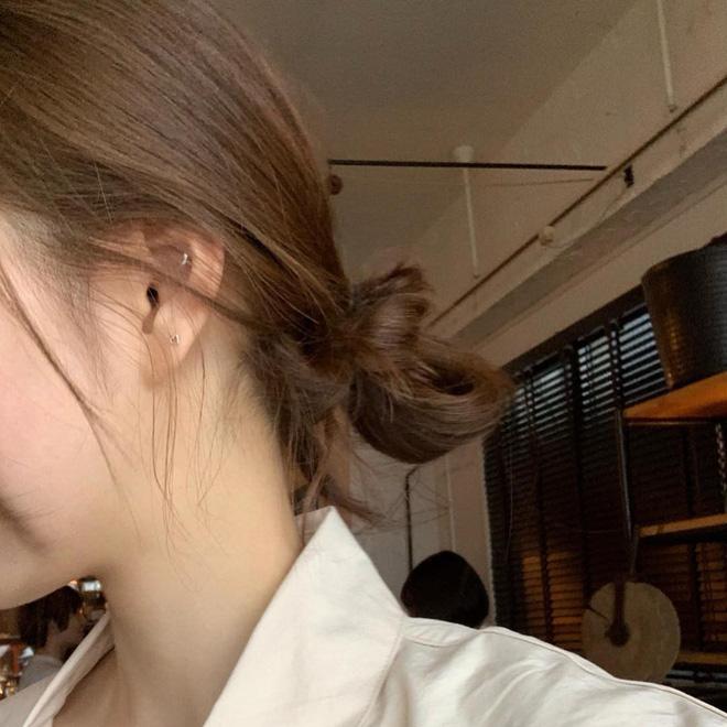 tóc búi thấp hàn quốc 4