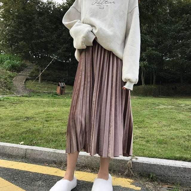 váy nhung 12