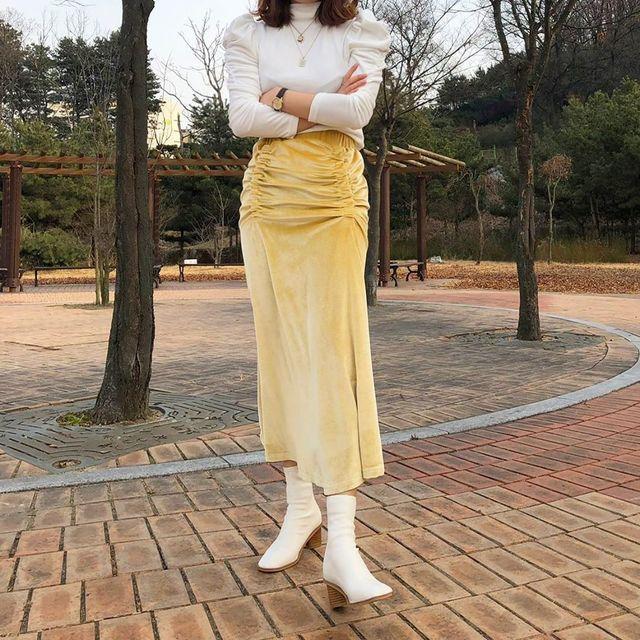 váy nhung 4