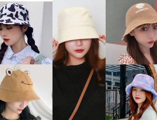 Bỏ túi 20+ Kiểu mũ xô cho mùa hè sôi động