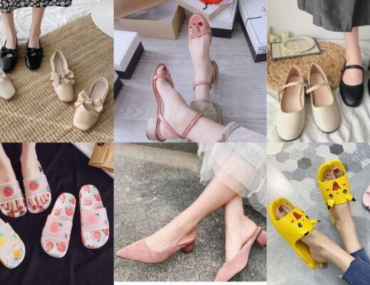 Bỏ túi 20+ kiểu giày dép mùa hè siêu xinh