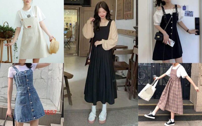 Danh sách 20+ mẫu váy yếm làm chị em tan chảy