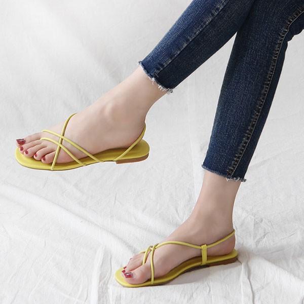 Giày sandal quai mảnh 2