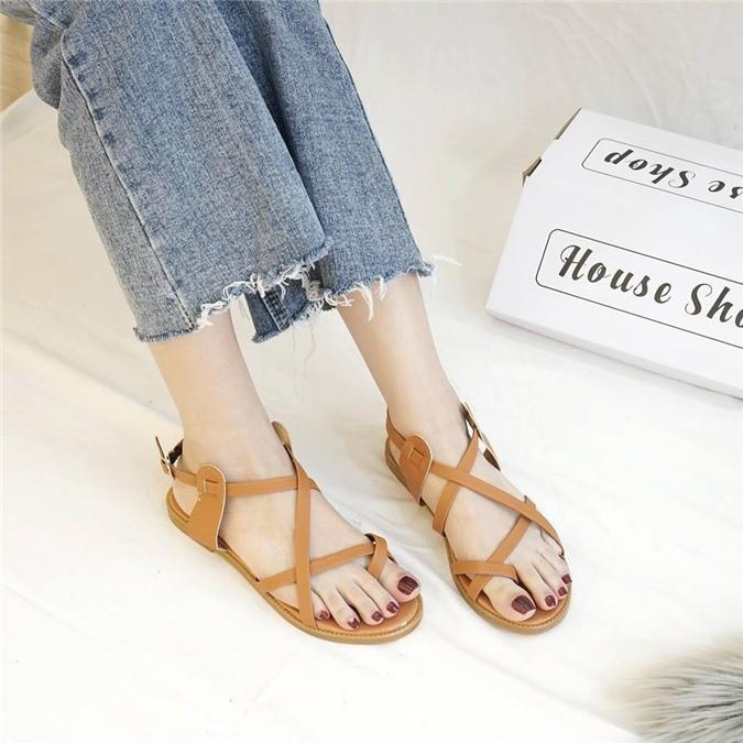 Giày sandal quai mảnh 5