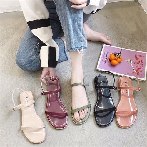 Giày sandal quai mảnh 8