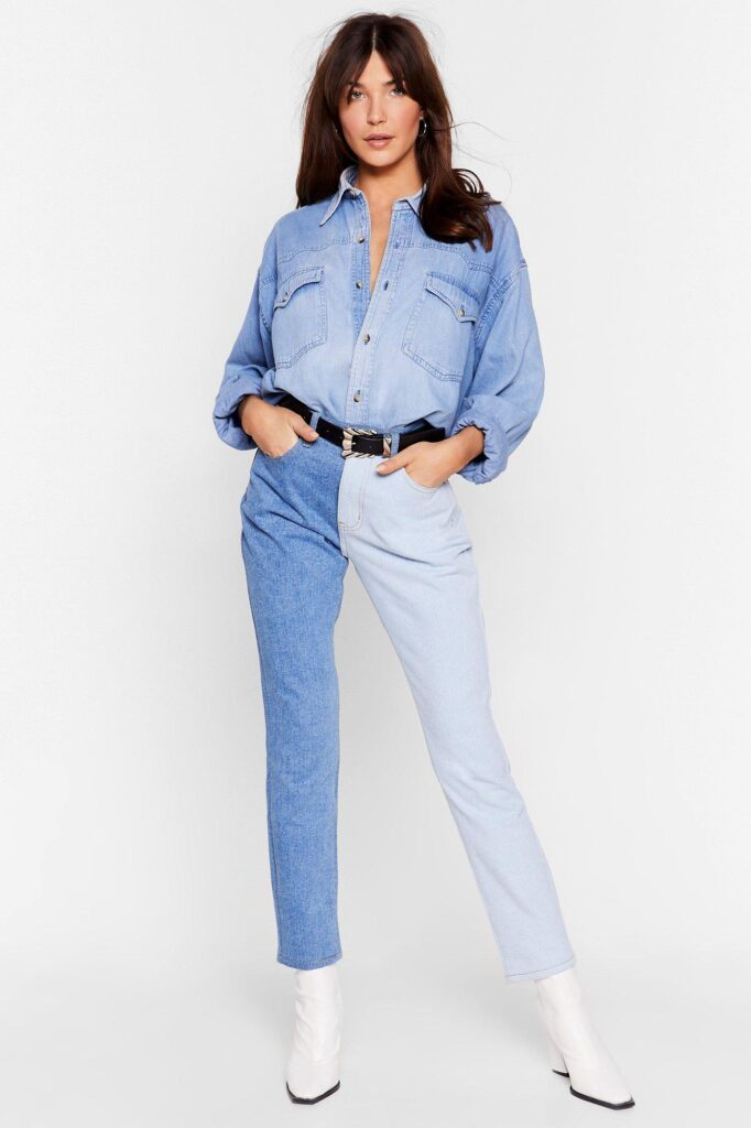 jeans hai màu 18