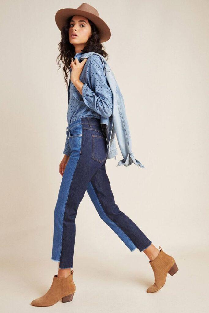 jeans hai màu 19