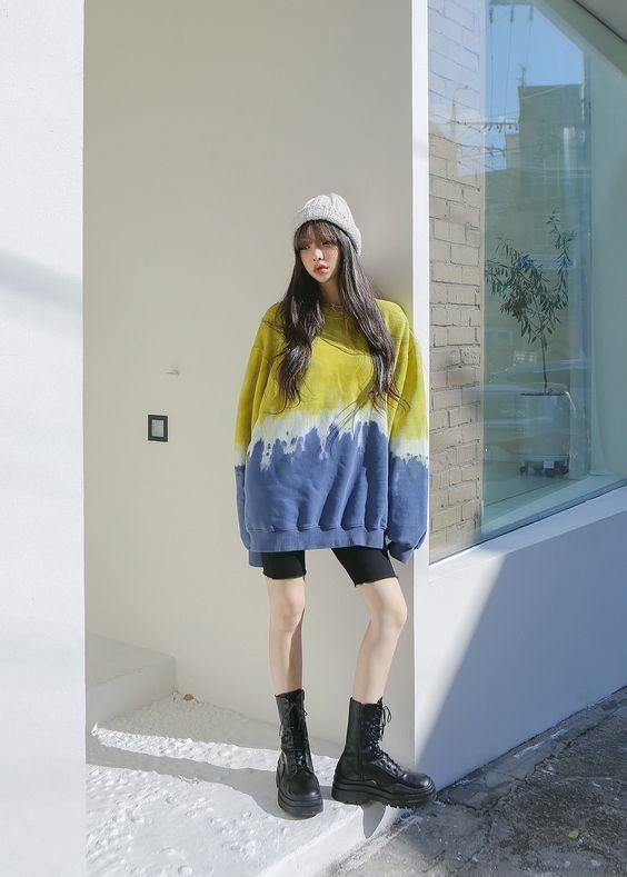 Kiểu trang phục màu tie dye pastel 12