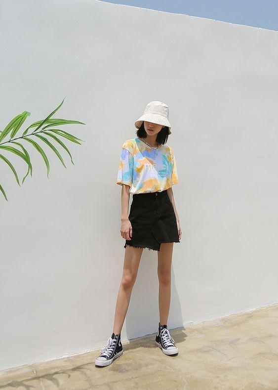 Kiểu trang phục tie dye pastel 9