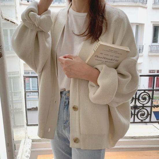 phối đồ với áo khoác cardigan 7