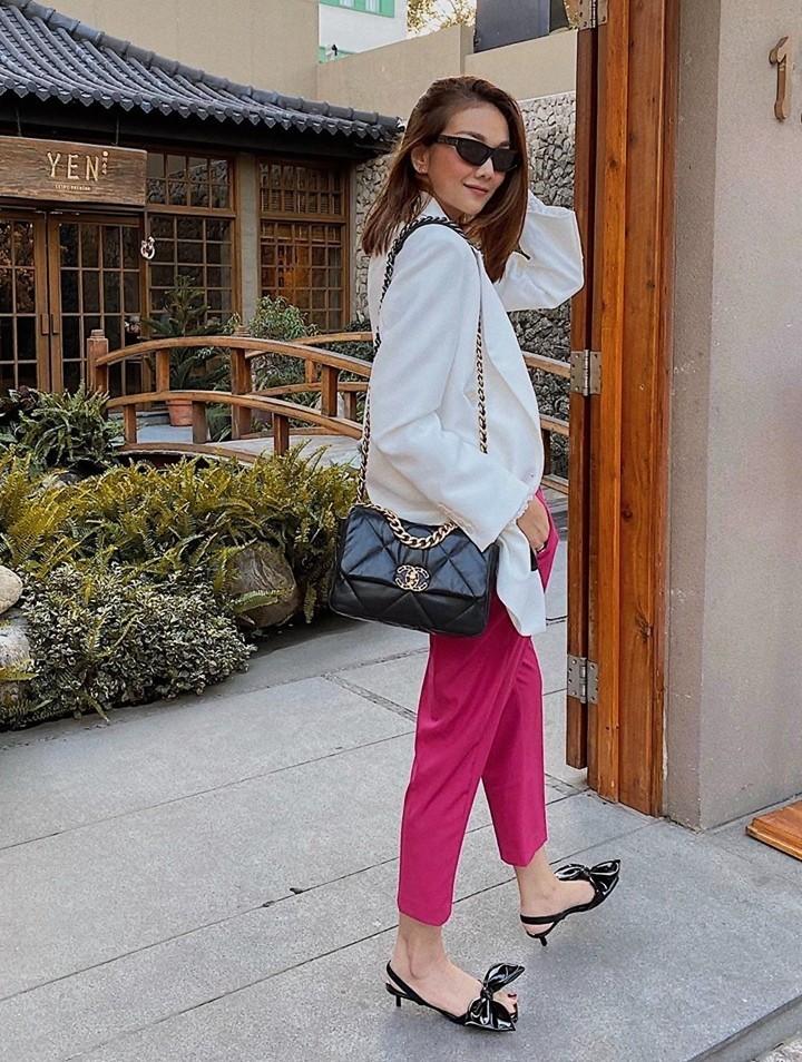 phối đồ với trang phục màu hồng_11