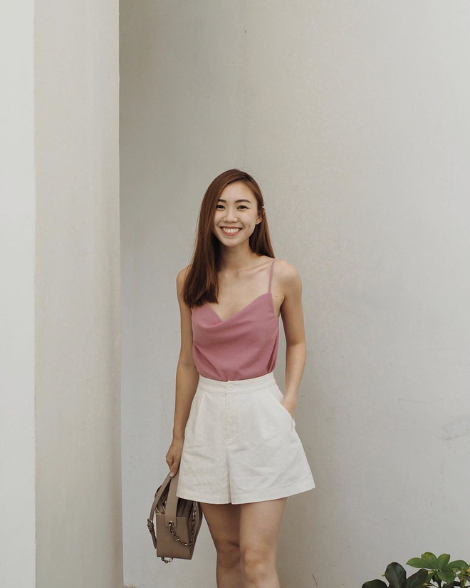 phối đồ với trang phục màu hồng_31