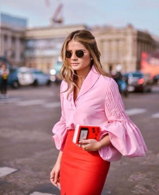 phối đồ với trang phục màu hồng_38