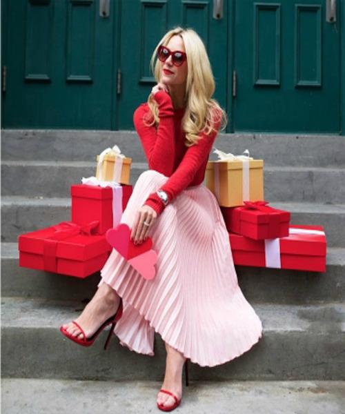 phối đồ với trang phục màu hồng_44