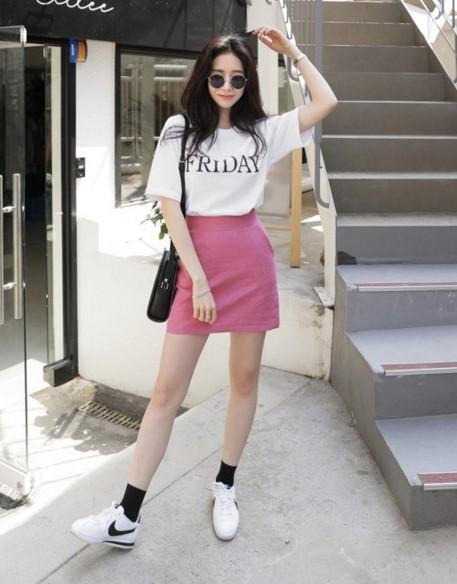 phối đồ với trang phục màu hồng_9