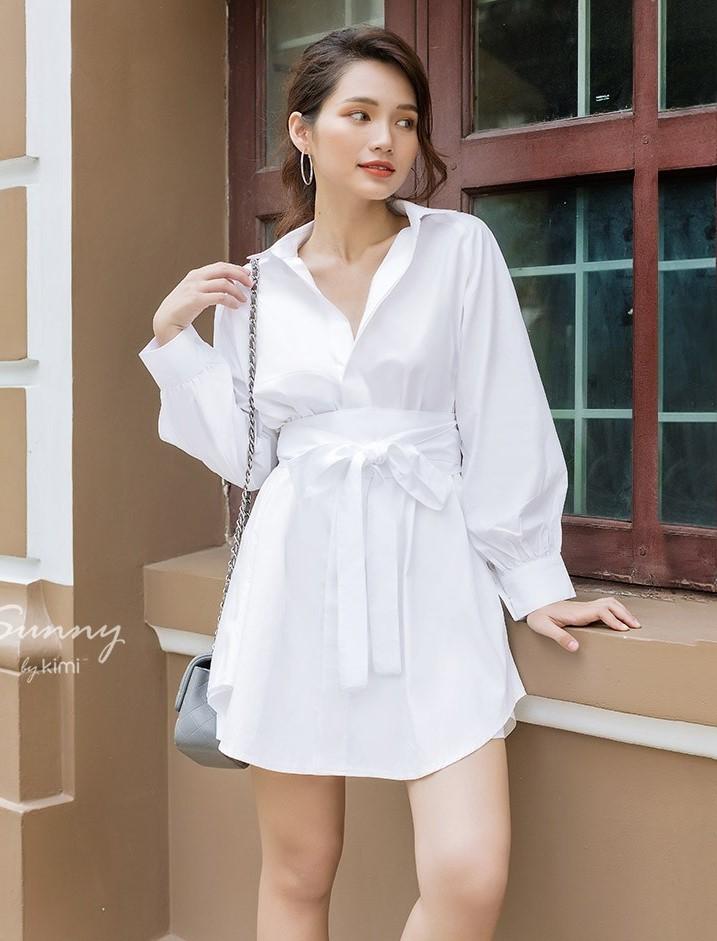 phối đồ với trang phục màu trắng_2