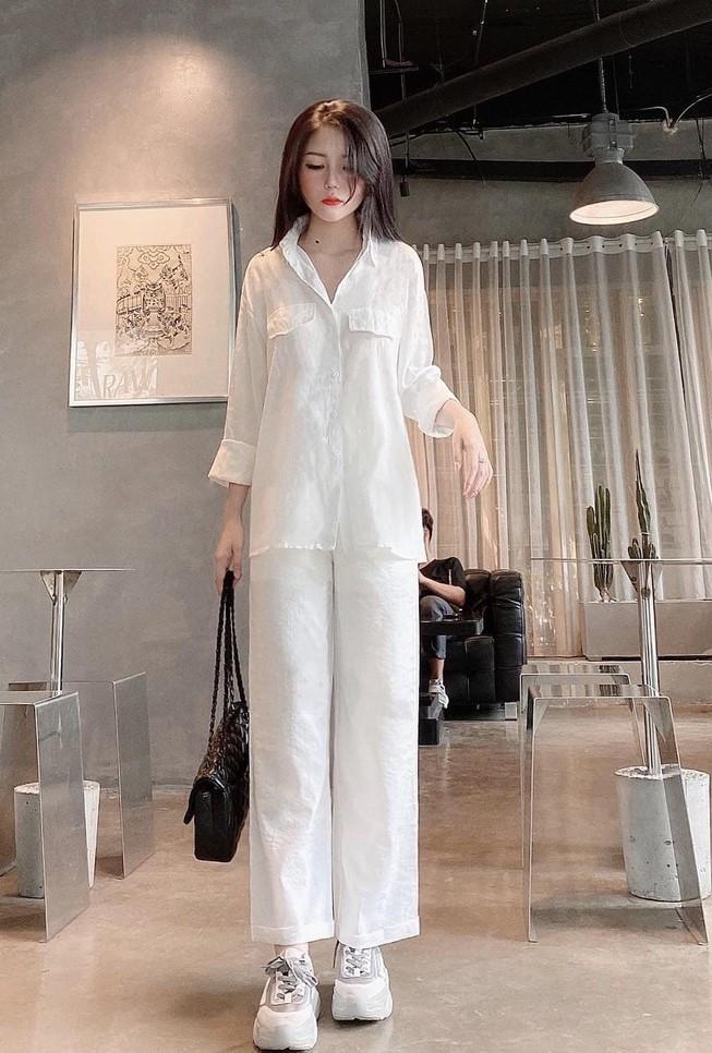 phối đồ với trang phục màu trắng_20