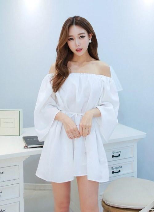 phối đồ với trang phục màu trắng_4