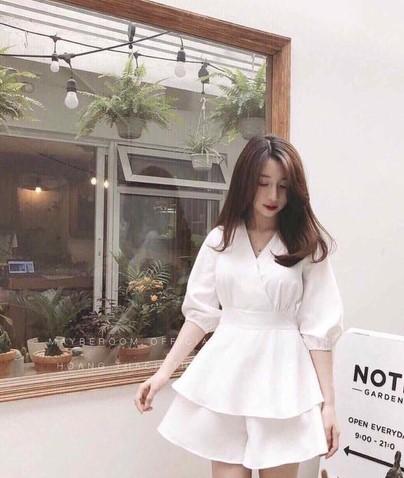 phối đồ với trang phục màu trắng_46