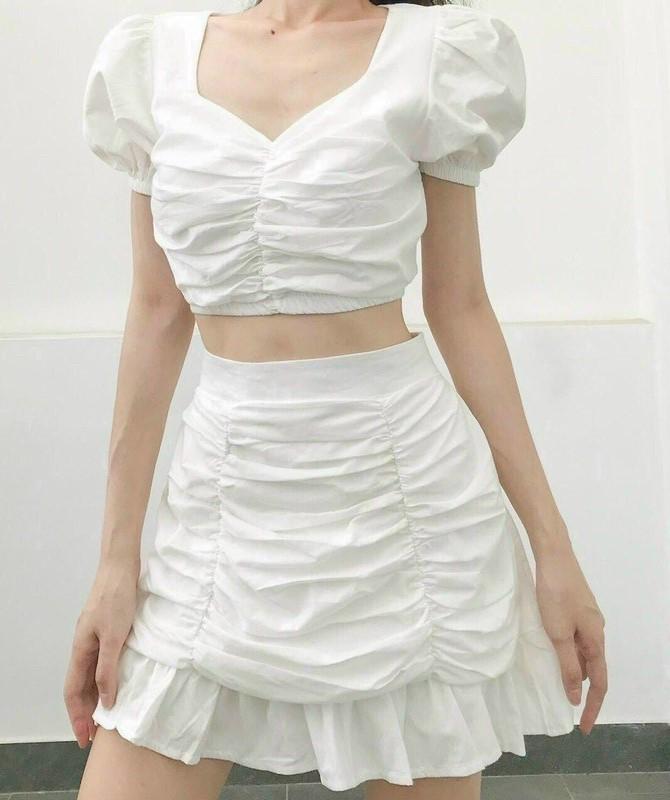 phối đồ với trang phục màu trắng_5
