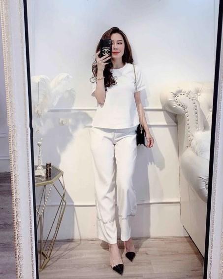 phối đồ với trang phục màu trắng_6