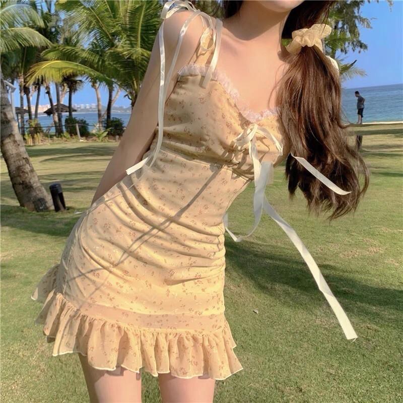 váy hoa nhí màu hè 1