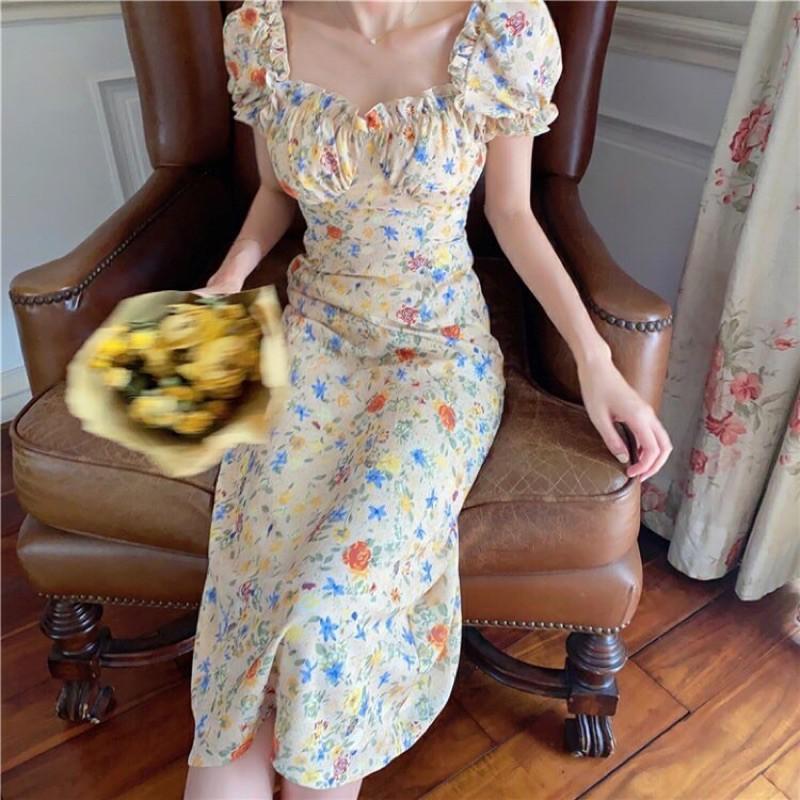 váy hoa nhí mùa hè