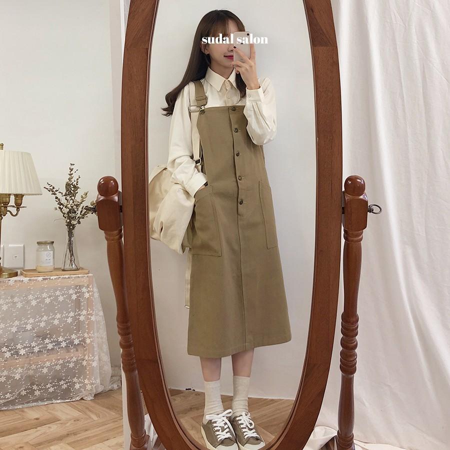 Váy yếm dài 4