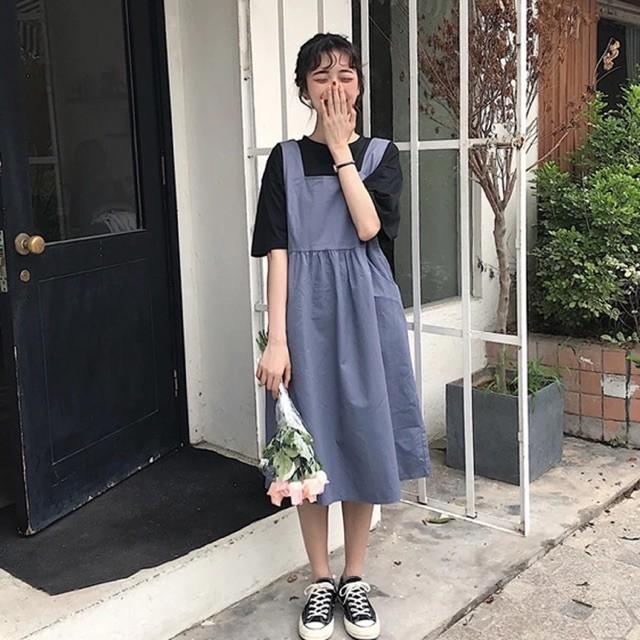 Váy yếm dài 5