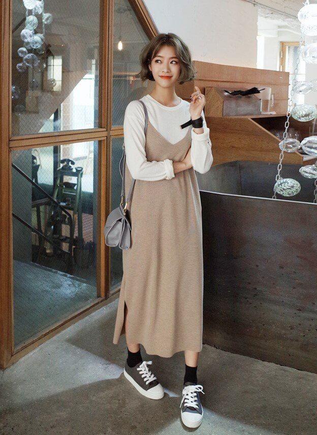 Váy yếm dài 7