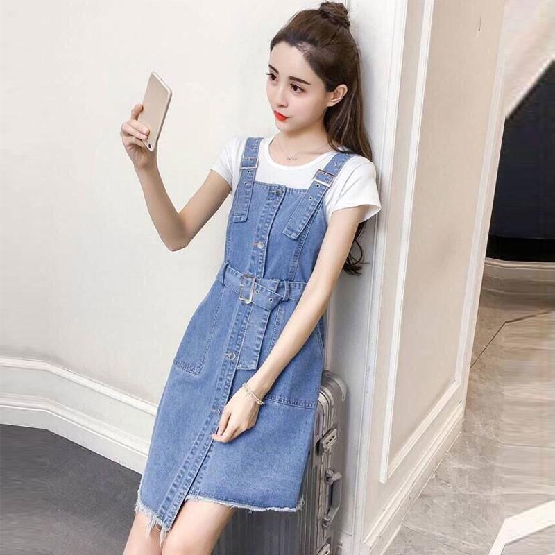 Váy yếm Jeans 4