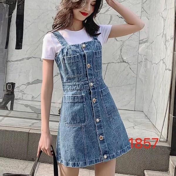 Váy yếm Jeans 6