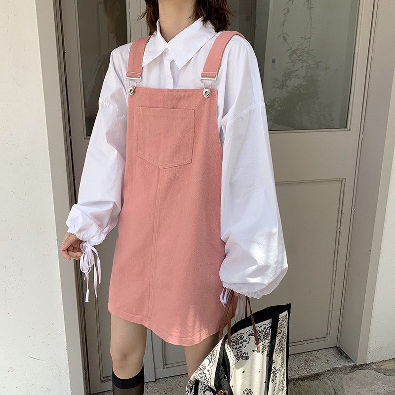 Váy yếm dài 2