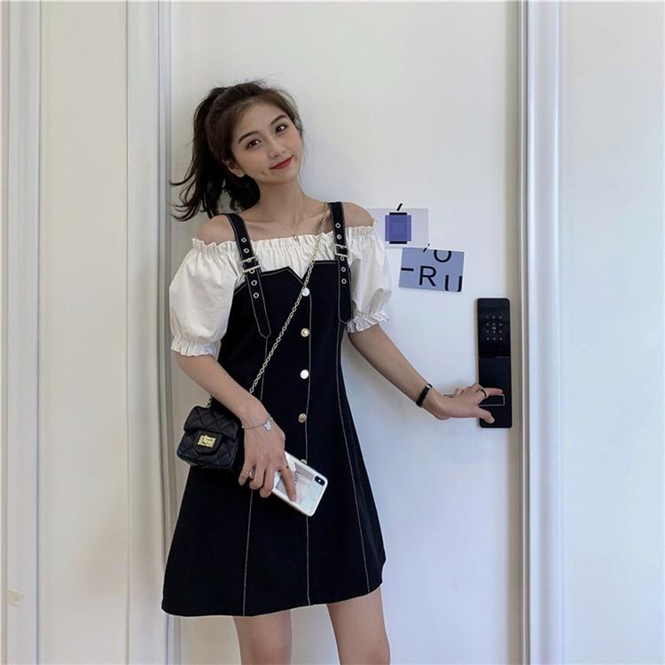 Váy yếm dài 3