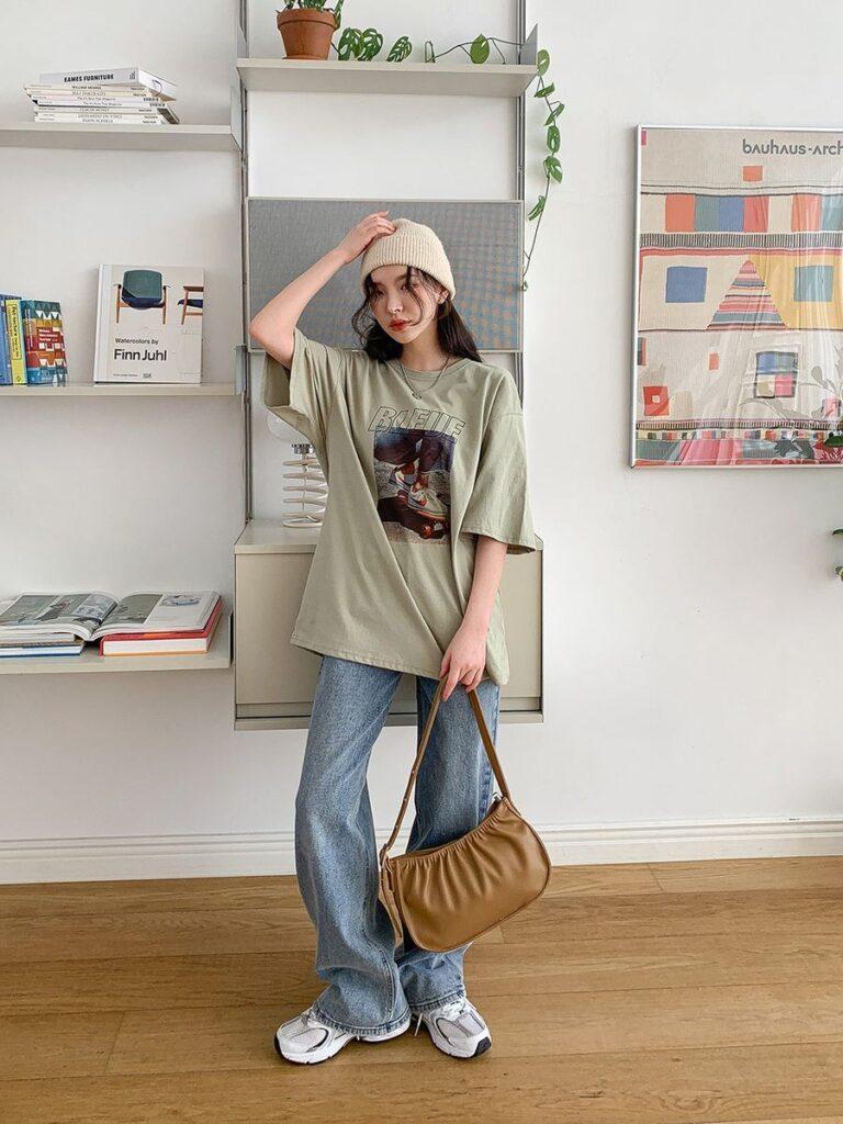Áo thun và quần jeans_6