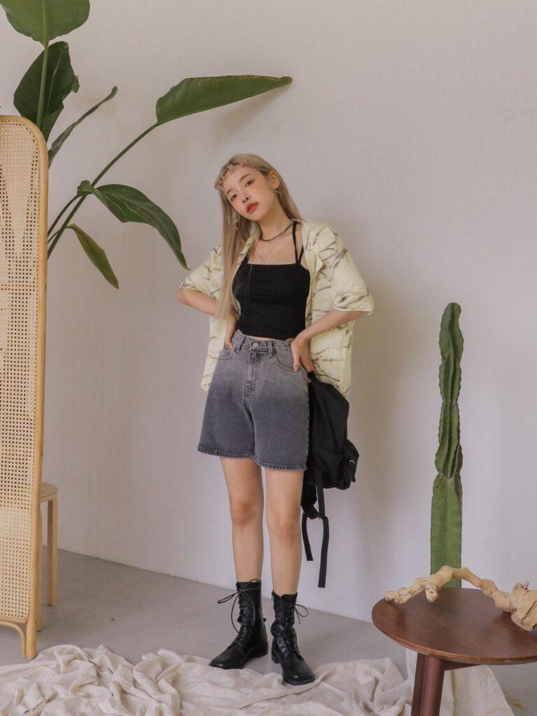 Mix đồ với quần short_8