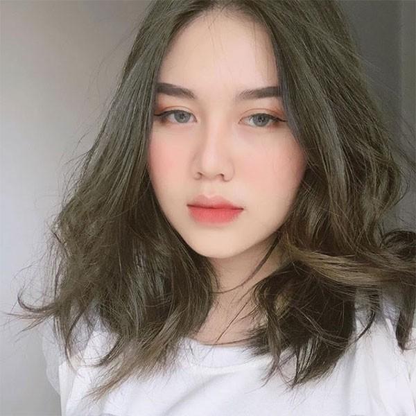 Tóc màu nâu lạnh ánh rêu_5