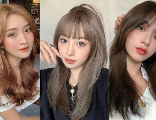 Top 20+ kiểu tóc màu nâu lạnh siêu hot 2021