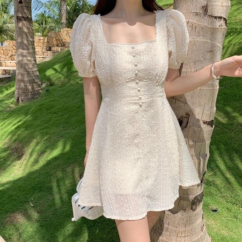 Váy ngắn cổ vuông_7