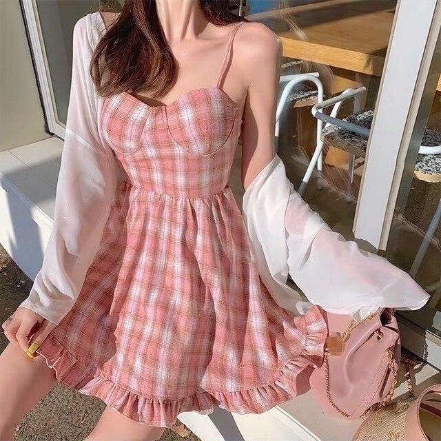 Váy ngắn hai dây_11