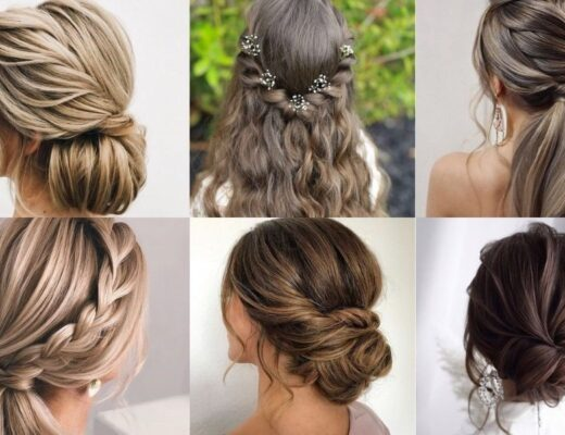 Kiểu tóc đi đám cưới cực xinh