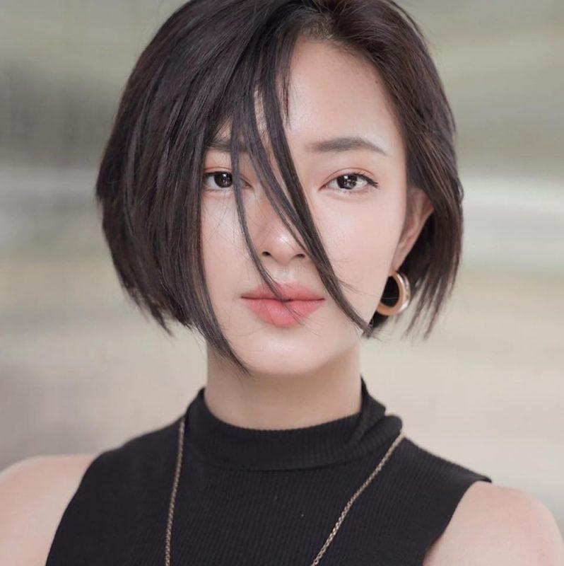 Kiểu tóc mặt dài 5