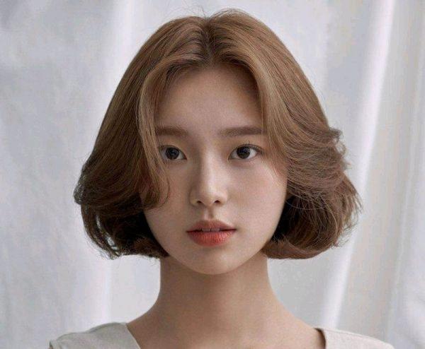 Tóc mái dài uốn nhẹ 5