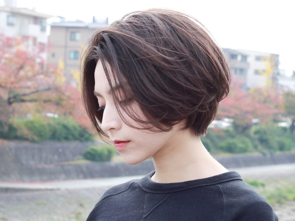 Tóc mái dài uốn nhẹ 6