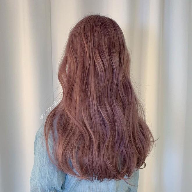 tóc màu nâu sữa 12