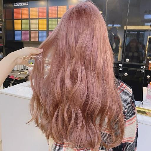 tóc màu nâu sữa 19
